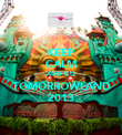 KEEP CALM AND GO TOMORROWLAND 2013 - Personalised Poster large