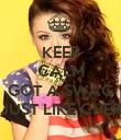KEEP CALM AND GOT A SWAG JUST LIKE CHER - Personalised Poster large
