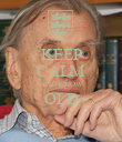 KEEP CALM AND GROW OLD  - Personalised Poster large