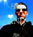 KEEP CALM AND Hai Afara - Personalised Poster large