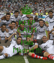 KEEP CALM AND Hala Madrid !!! - Personalised Poster small