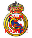 KEEP CALM AND HALA MADRID !! - Personalised Poster large