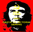 KEEP CALM AND HASTA LA VICTORIA SIEMPRE - Personalised Poster large