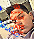 KEEP CALM AND HATE SESE - Personalised Poster large