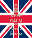 KEEP CALM AND Have a  Snogx - Personalised Poster large