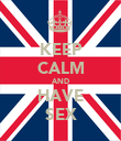 KEEP CALM AND HAVE SEX - Personalised Poster large
