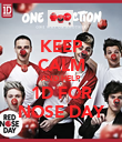 KEEP CALM AND HELP 1D FOR NOSE DAY - Personalised Poster large
