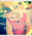 KEEP CALM AND HOJE É O PRIMEIRO  DIA DE AULA  - Personalised Poster large