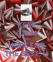 KEEP CALM AND HOPE FOR THE BEST!!! - Personalised Poster large