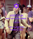 KEEP CALM and I am a mundane.. OUCH! I am a vampire.. thanks Clary. - Personalised Poster large
