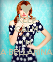 KEEP CALM AND I'M A BELLARINA - Personalised Poster large