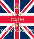 KEEP CALM AND I'M MRS. STYPAYHORLIKSON - Personalised Poster large