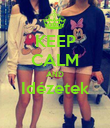 KEEP CALM AND Idézetek  - Personalised Poster large