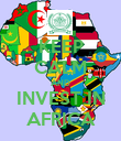 KEEP CALM AND INVEST IN AFRICA - Personalised Poster large