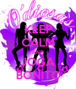KEEP CALM AND JOGA BONITO - Personalised Poster large