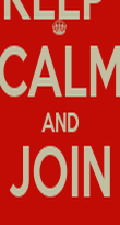 KEEP  CALM AND JOIN DIAVOLA - Personalised Poster large
