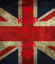 KEEP CALM AND Join FgF - Personalised Poster large