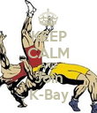KEEP CALM AND Join K-Bay - Personalised Poster large