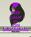 KEEP CALM AND JOIN OROCHIMARU - Personalised Poster large