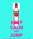 KEEP CALM AND JUMP ONDA WAVE - Personalised Poster large