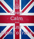 Keep  Calm  And Just  ListenToTrance - Personalised Poster large