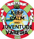 KEEP CALM AND JUVENTUDE VAREIRA - Personalised Poster large