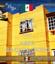 KEEP CALM AND  KEEP BACKPACKING - Personalised Poster large