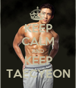 KEEP CALM AND KEEP TAECYEON - Personalised Poster large
