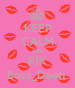 KEEP CALM AND KIK Boss_Deeh  - Personalised Poster large