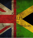 KEEP CALM AND kingstonlondon radio. - Personalised Poster large