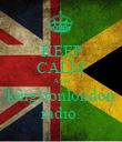 KEEP CALM AND kingstonlondon radio. - Personalised Poster large