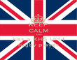 KEEP CALM AND kiss a KHS U/14 rugby player - Personalised Poster large