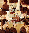 KEEP CALM AND KYUholic  - Personalised Large Wall Decal