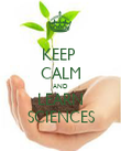 KEEP  CALM AND LEARN SCIENCES - Personalised Poster large