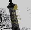 KEEP CALM AND Let's Kill Tonight - Personalised Poster large