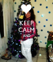 KEEP CALM AND Let's  try - Personalised Poster large