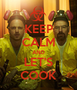 KEEP CALM AND LET'S COOK - Personalised Poster large