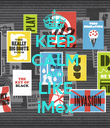 KEEP CALM AND LIKE iMex - Personalised Poster large