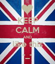 KEEP CALM AND like this -_- - Personalised Poster large