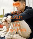 KEEP CALM AND Like Zayn Malik - Personalised Poster large