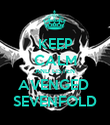 KEEP CALM AND LISTEN AVENGED  SEVENFOLD - Personalised Poster large