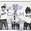 KEEP CALM AND Listen Hanson - Personalised Poster large