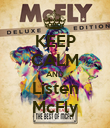 KEEP CALM AND Listen McFly - Personalised Poster large