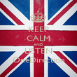 KEEP CALM AND LISTEN OneDirection - Personalised Poster large