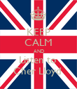 KEEP CALM AND Listen to  Cher Lloyd  - Personalised Poster large