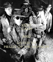 KEEP CALM AND LISTEN TO FIELDS OF THE NEPHILIM - Personalised Poster large