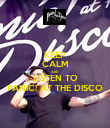 KEEP CALM AND LISTEN TO PANIC! AT THE DISCO - Personalised Poster large