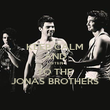 KEEP CALM AND LISTEN TO THE JONAS BROTHERS - Personalised Poster large