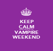 KEEP CALM AND LISTEN TO VAMPIRE WEEKEND - Personalised Poster large
