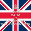 KEEP  CALM AND LISTEN TO  WAAFIQA JAPPIE - Personalised Poster large